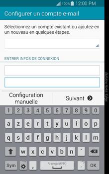 Samsung Galaxy Note Edge - E-mail - configuration manuelle - Étape 6