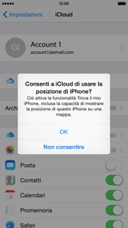 Apple iPhone 6 iOS 8 - Applicazioni - Configurazione del servizio Apple iCloud - Fase 8