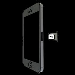 Apple iPhone 5 mit iOS 7 - SIM-Karte - Einlegen - Schritt 5