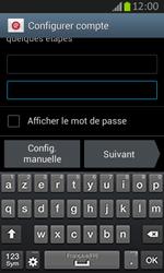 Samsung S7710 Galaxy Xcover 2 - E-mail - Configurer l