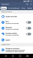 LG LG K8 - Internet et connexion - Désactiver la connexion Internet - Étape 6