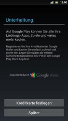 Sony Xperia S - Apps - Einrichten des App Stores - Schritt 13