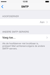 Apple iPhone 4 iOS 7 - E-mail - Account instellen (POP3 zonder SMTP-verificatie) - Stap 16