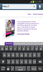 Samsung S7710 Galaxy Xcover 2 - Internet - Internet browsing - Step 14