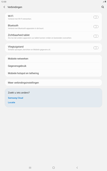 Samsung galaxy-tab-a-10-5-sm-t595-android-pie - WiFi - Handmatig instellen - Stap 5