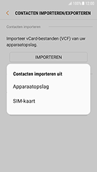 Samsung Galaxy S7 - Android N - Contacten en data - Contacten kopiëren van SIM naar toestel - Stap 8