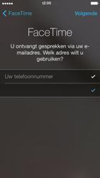 Apple iPhone 5 - Applicaties - FaceTime gebruiken - Stap 7