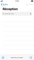 Apple iPhone SE - iOS 13 - E-mail - Envoi d