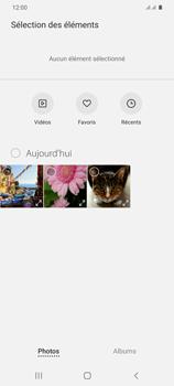 Samsung Galaxy S20+ - Contact, Appels, SMS/MMS - Envoyer un MMS - Étape 17