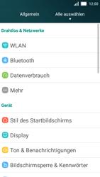 Huawei Y5 - MMS - Manuelle Konfiguration - Schritt 3