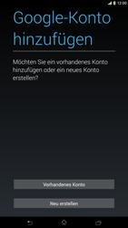 Sony Xperia Z Ultra LTE - Apps - Konto anlegen und einrichten - Schritt 4
