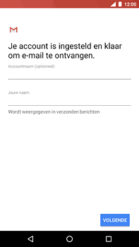 Nokia 6 (2018) - E-mail - Handmatig instellen (outlook) - Stap 11