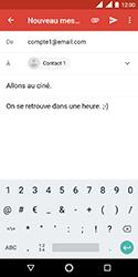 Nokia 3.1 - E-mails - Envoyer un e-mail - Étape 9