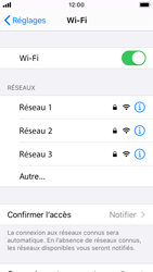 Apple iPhone SE - iOS 13 - Wifi - configuration manuelle - Étape 4