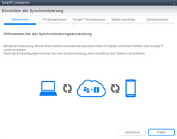 Sony Xperia Tablet Z LTE - Software - Sicherungskopie Ihrer Daten erstellen - Schritt 5