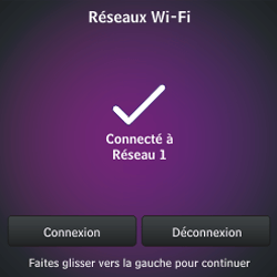 BlackBerry Q10 - Premiers pas - Créer un compte - Étape 9