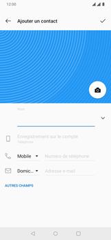 OnePlus 7 - Contact, Appels, SMS/MMS - Ajouter un contact - Étape 6