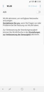 Samsung Galaxy S8 - Android Oreo - WLAN - Manuelle Konfiguration - Schritt 6