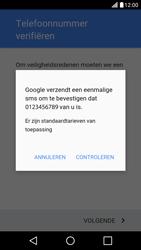 LG LG X Screen - apps - account instellen - stap 8