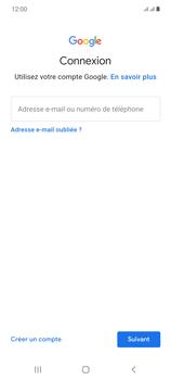 Samsung Galaxy Note20 - Applications - Créer un compte - Étape 5