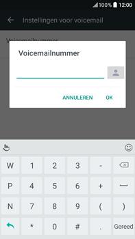 HTC HTC Desire 825 - Voicemail - handmatig instellen - Stap 8