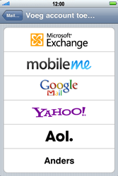 Apple iPhone 4 - E-mail - Handmatig instellen - Stap 6