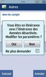 Samsung Wave 723 - E-mails - Ajouter ou modifier un compte e-mail - Étape 8