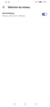 Huawei P30 Lite - Réseau - Sélection manuelle du réseau - Étape 6
