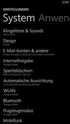 Nokia Lumia 1320 - E-Mail - Konto einrichten - 0 / 0
