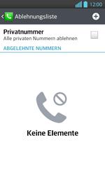 LG P710 Optimus L7 II - Anrufe - Anrufe blockieren - Schritt 7