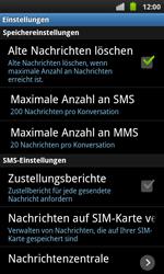 Samsung I9001 Galaxy S Plus - SMS - Manuelle Konfiguration - Schritt 4