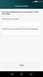 Huawei P8 Lite - E-Mail - Konto einrichten (outlook) - Schritt 9