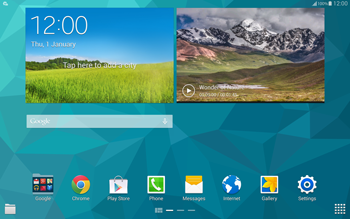 Samsung T805 Galaxy Tab S - Internet - Automatic configuration - Step 3