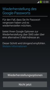 Samsung Galaxy Note 3 LTE - Apps - Konto anlegen und einrichten - 12 / 22