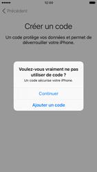 Apple iPhone 7 - Premiers pas - Créer un compte - Étape 16
