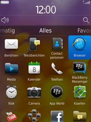 BlackBerry 9810 Torch - Internet - Hoe te internetten - Stap 2
