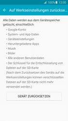Samsung A510F Galaxy A5 (2016) - Fehlerbehebung - Handy zurücksetzen - Schritt 8