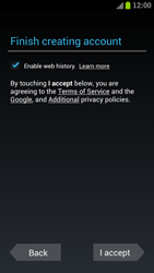 Samsung I9300 Galaxy S III - Applications - Create an account - Step 10