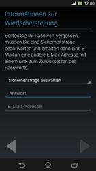 Sony Xperia Z - Apps - Einrichten des App Stores - Schritt 9