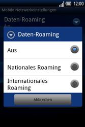 Sony Ericsson Xperia X8 - Ausland - Im Ausland surfen – Datenroaming - Schritt 9