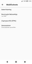 Sony Xperia XZ2 Compact - Netzwerk - Netzwerkeinstellungen ändern - Schritt 8