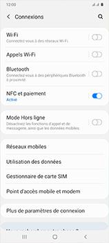 Samsung Galaxy A41 - Internet et connexion - Désactiver la connexion Internet - Étape 5