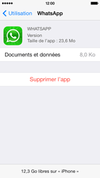 Apple iPhone 5s - Applications - Comment désinstaller une application - Étape 6