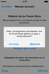 Apple iPhone 4S (iOS 8) - apps - account instellen - stap 12