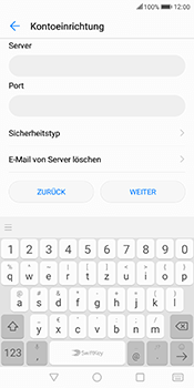 Huawei Mate 10 Lite - E-Mail - Konto einrichten - 12 / 21