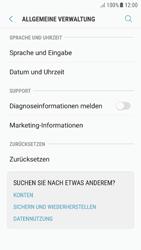 Samsung Galaxy A5 (2016) - Android Nougat - Gerät - Zurücksetzen auf die Werkseinstellungen - Schritt 5