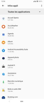 Sony Xperia 5 - Applications - Comment désinstaller une application - Étape 9