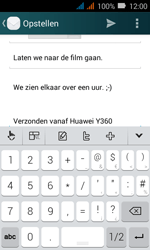 Huawei Y3 - E-mail - E-mails verzenden - Stap 11