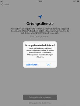 Apple iPad Air - iOS 11 - Persönliche Einstellungen von einem alten iPhone übertragen - 19 / 27