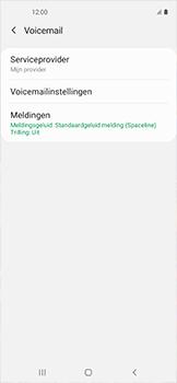 Samsung galaxy-xcover-pro-sm-g715fn - Voicemail - Handmatig instellen - Stap 7